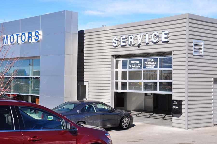 White S University Motors D2c Architects